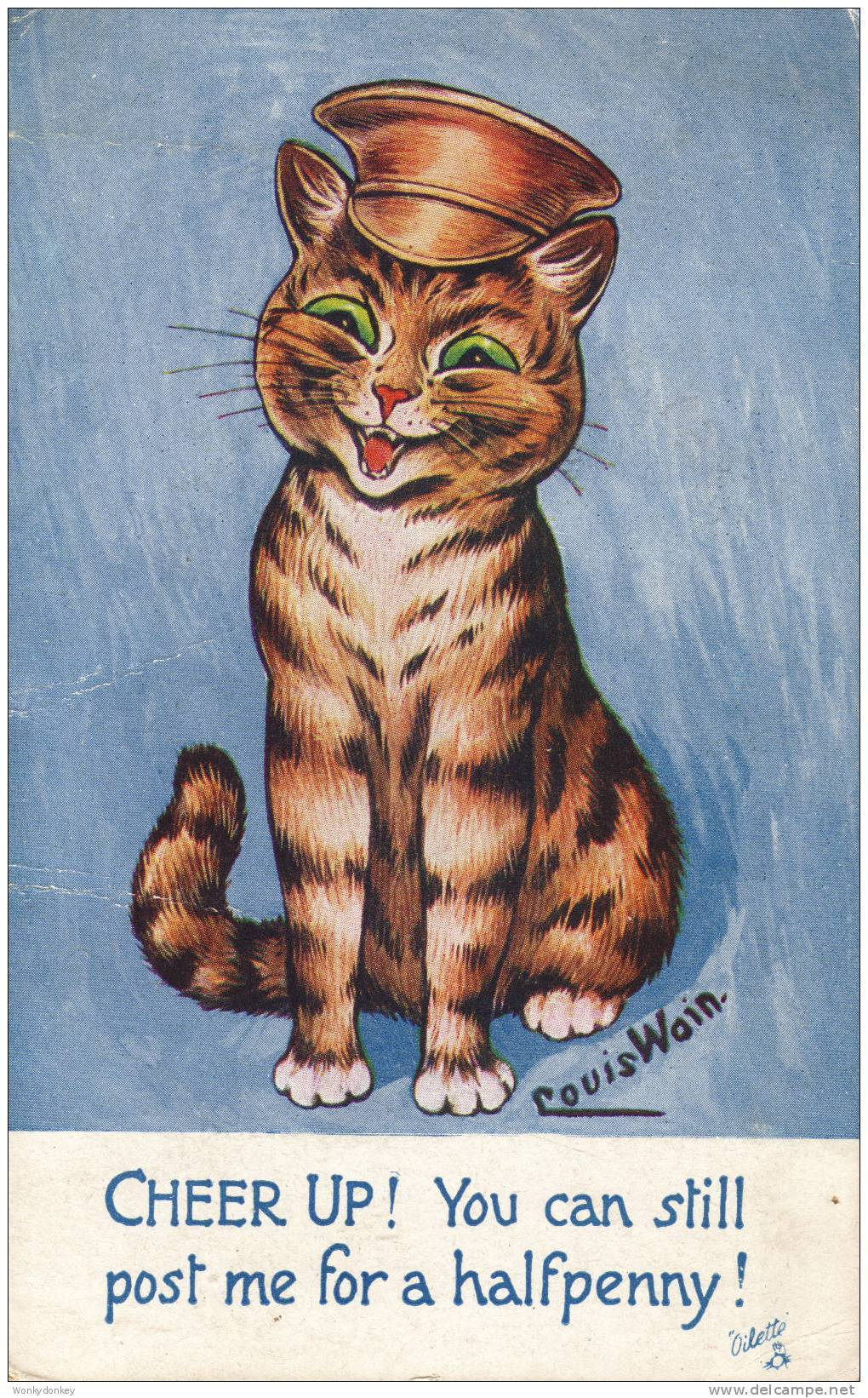 Louis Wain - Crazy Cat
