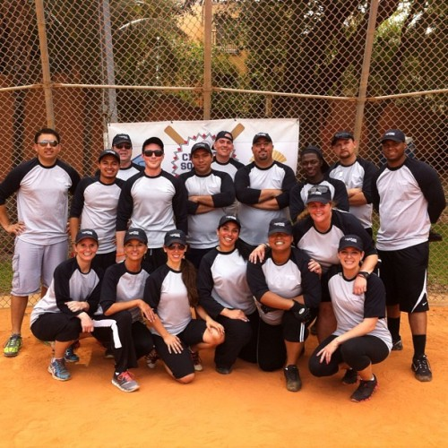 Charity softball event for a good cause @prygen  (at Peacock Park)