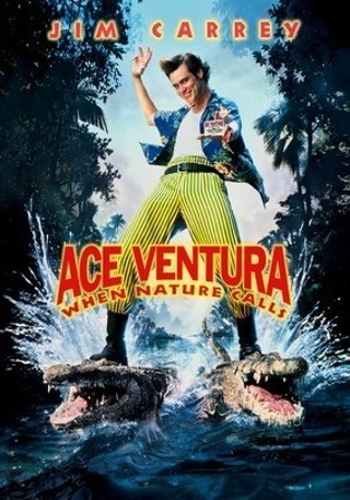 I'm watching Ace Ventura: When Nature Calls                        Check-in to               Ace Ventura: When Nature Calls on GetGlue.com