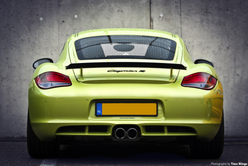 automotivated:  CaymanRaw. (by Timo Klinge)