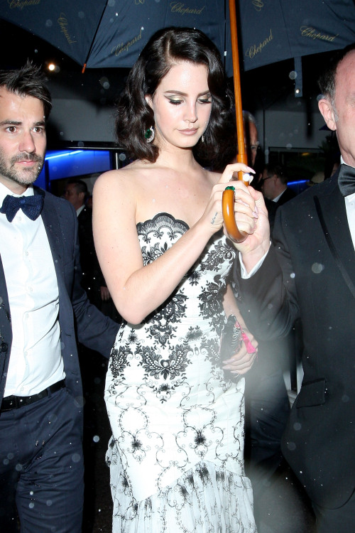 Lana Del Rey leaving the Cannes Film Festival Opening Ceremony