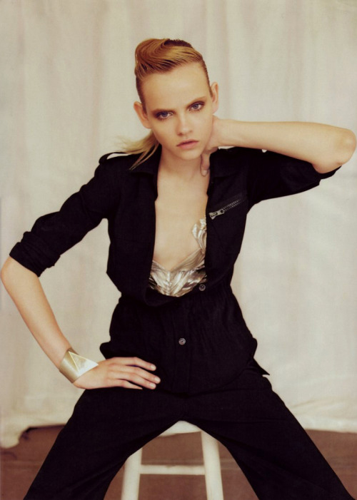 "givene:  ""Maschile Femminile"" Ginta Lapina by Beau Grealy for Flair, November 2009"