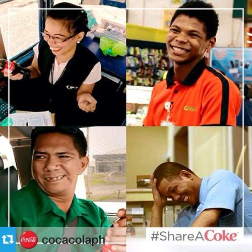 #Repost from @cocacolaph with @repostapp—-If there was a happier way of thanking people, wouldn't you want to find out how? 😊 Watch the video here: www.CokeURL.com/TheHappiestThankYou #ShareACoke