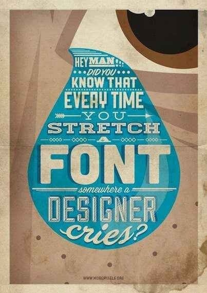 Did you know?  Look for condensed and wide fonts these are especially designed for this reason…
