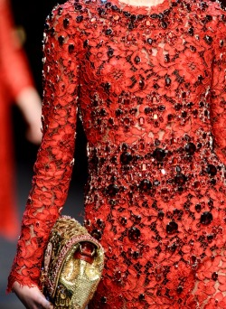 she-loves-fashion:  SHE LOVES FASHION: Dolce & Gabbana Fall/Winter 2013