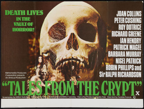 British quad for Tales From The Crypt (1972)