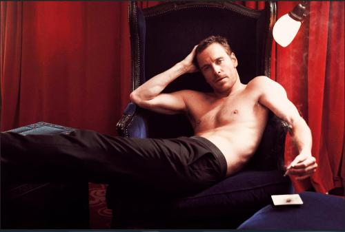 gasstation:  Michael Fassbender - Vanity Fair outtake photographed by Mark Seliger, 2011