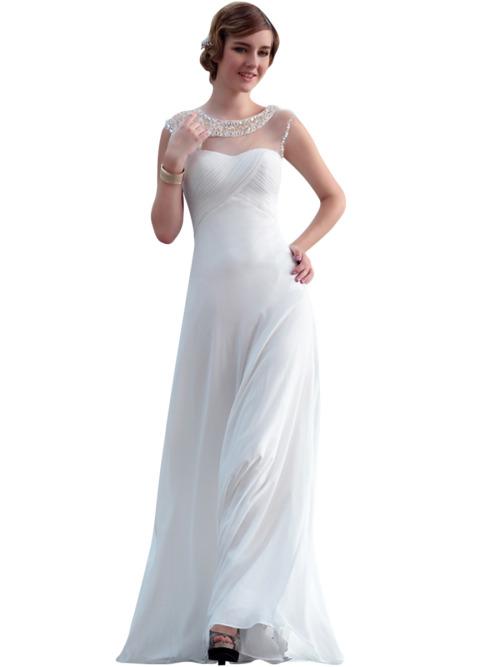 LANA IN WHITE LACE WEDDING DRESS WITH BEADING  SKU# 30626 Be the first to review this product Availability: In stock £215.00