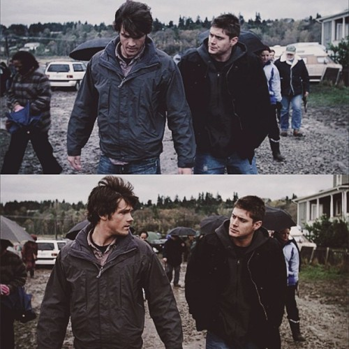 Double Tap! Because I know you love this episode :) { #deanwinchester #samwinchester #sammy #deanybear #moose #moosekateer #padamoose #padahair #spn #spnfamily #supernatural #jensenackles #jaredpadalecki }