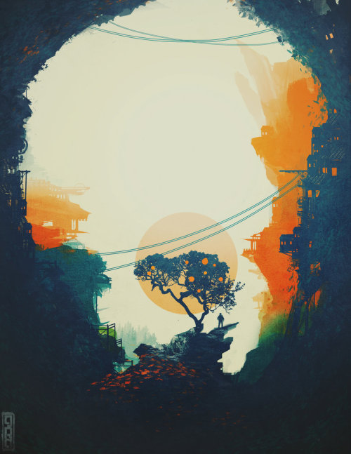 inspirationofelves:  Orange Tree by *TavenerScholar