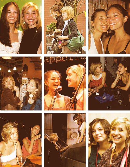 Allison Mack x Kristin Kreuk - Off Screen Friendship