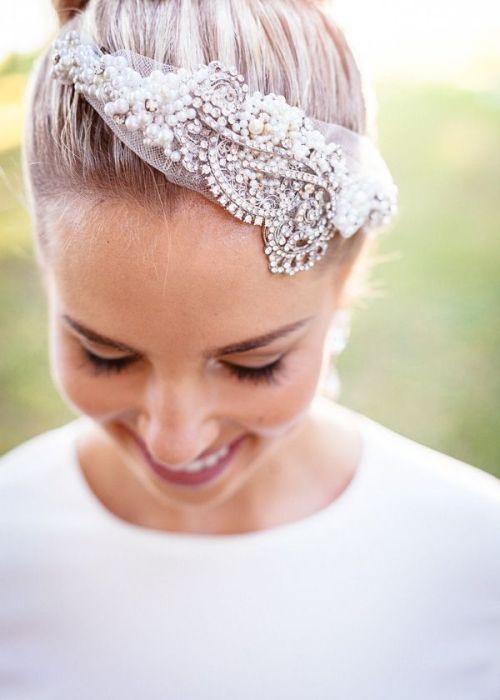 wedding bride hairpiece favorite veil alternative sparkle sparkles sparkly