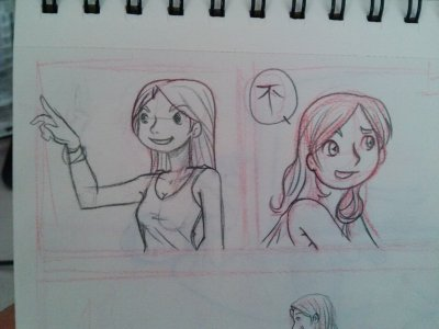 Working in a comic page… long time I don't do it.