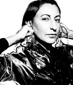 Miuccia Prada photographed by Rankin