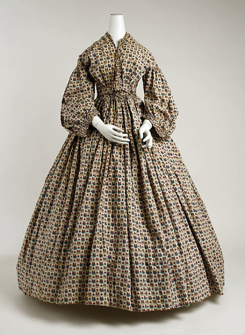 Morning Dress 1850-1865 The Metropolitan Museum of Art