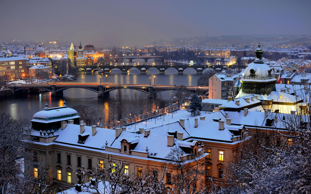 allthingseurope:  Prague in winter (by DoctorNo_34)