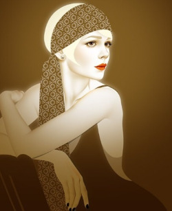 gatsbymovie:  Fan art featuring the lovely Daisy Buchanan!
