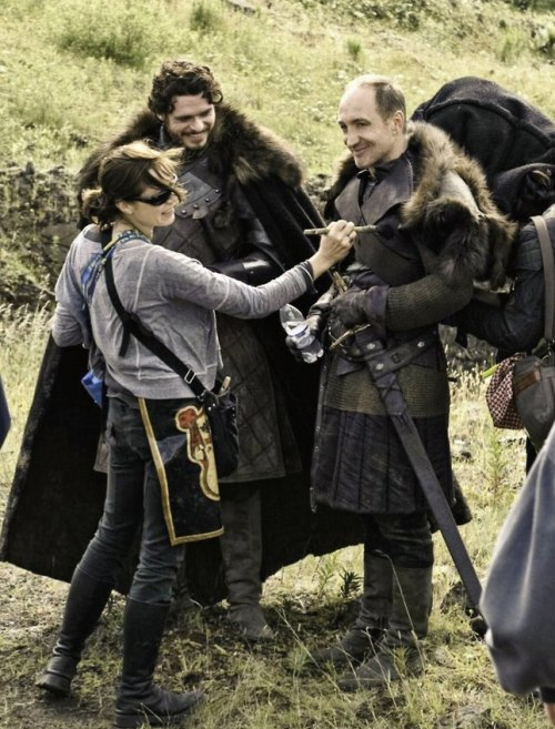 vanballin:  Can we talk about how Roose Bolton is actually really adorable. I mean just look at him, come on.