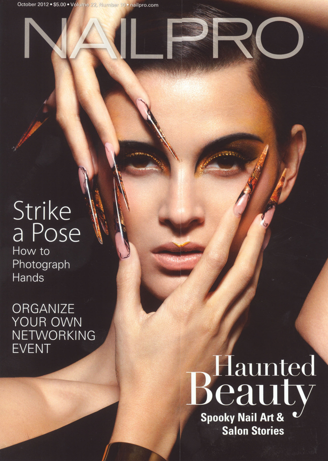 nailpro cover! haircolor by Jared Gee haircut by Jennifer Audeon