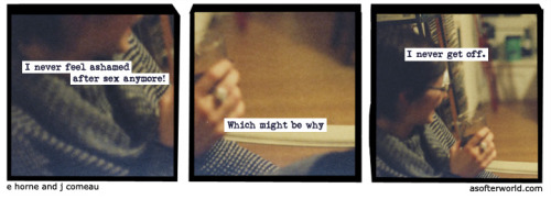 softerworld:  A Softer World: 932 (Let's do something wrong.) buy this print
