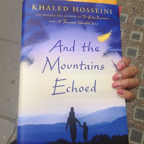 I GOT IT!!! 1st one to get it in the UKs biggest Waterstones! Yaay! #khaledhosseini #book #booklaunch