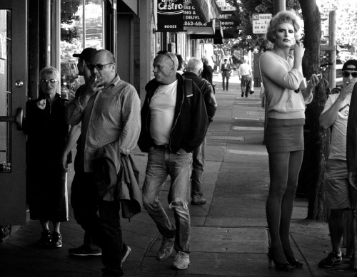 Tall in B&W: The Castro. San Francisco, 05-12-13.