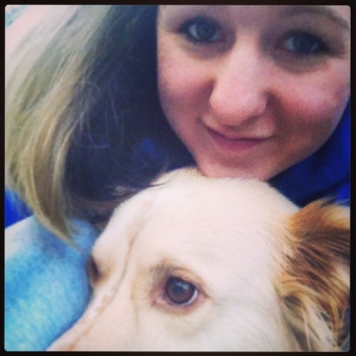 I love my maddie-mooface :)) #doggylove #family #winterbreak