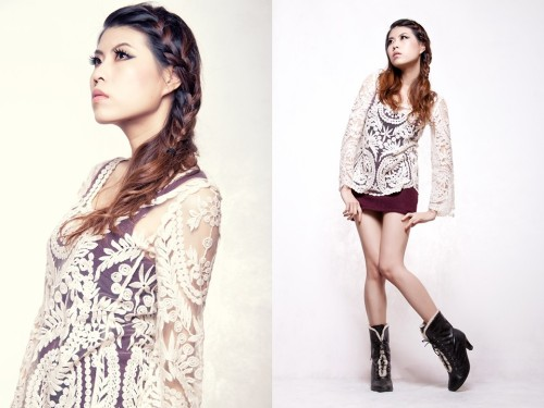 Fishbone hairstyle (by Sheena Son)thanks my photographer AjaxLee,  plz give him a Like: 500px.com/ajaxlee   love you guys.