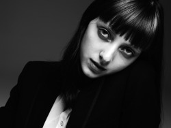 d-i-a-b-o-l-i-q-u-e-s:  Sarah Engelland by Hedi Slimane  She looks just like a young Anne Teresa de Keersmaeker in this.