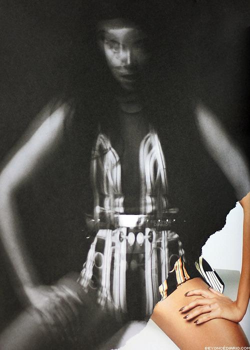 Beyoncé wearing David Koma - The Mrs. Carter ShowTour Book