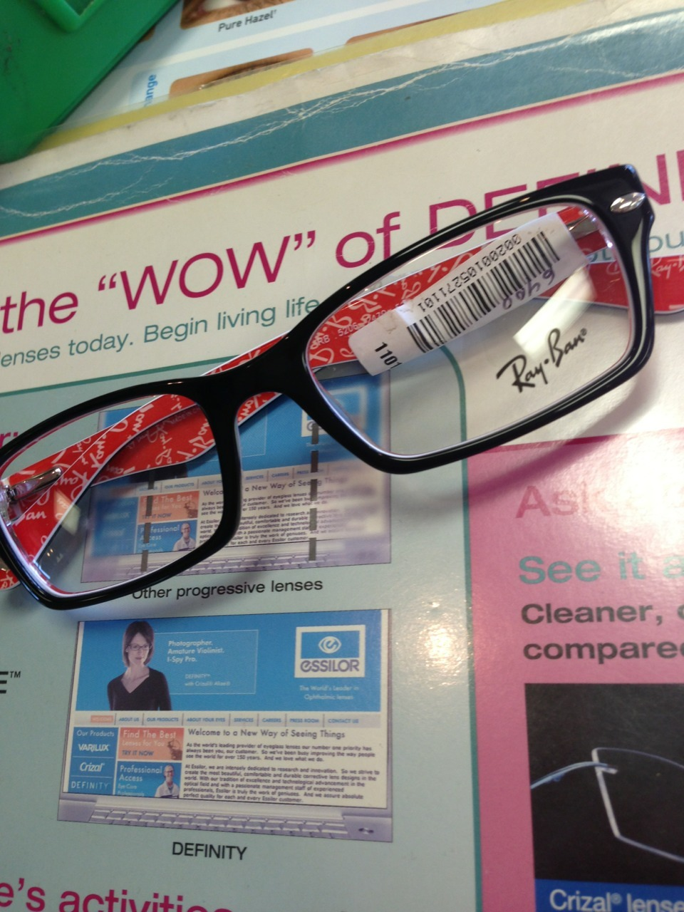 allheart-n:  So the oculist told me i need glasses  so im getting these RayBan glasses👌💛💁  I have these glasses c:
