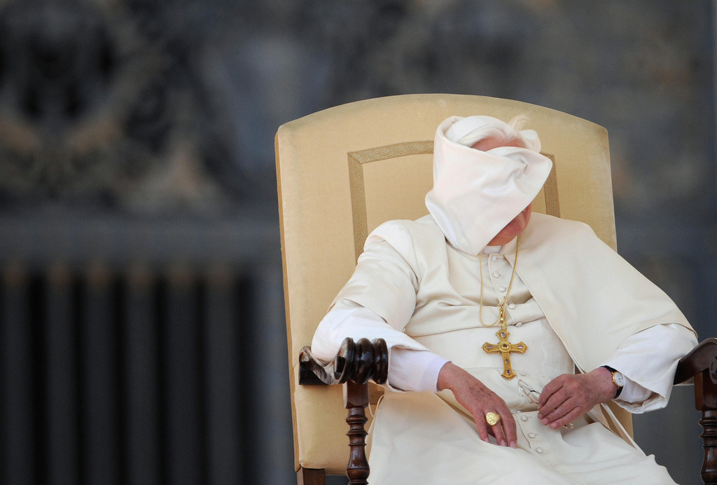 "I chose this photo of Pope Benedict XVI from 2008 to head Mary Jo McConohay's insightful commentary and analysis, ""La Sorpresa: The Papal Resignation, in the Latin American Eye.""  Is Latin America the future of the Roman Catholic Church, or will the home to liberation theology be relegated to the sidelines when the next pope is chosen?   ""Half of the cardinals who will vote are from Europe, but only a quarter of Catholics live there. Whoever is elected, dramatic church changes do not appear imminent.""    ~Trent Gilliss"