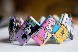 adventure-machine:  Cute Adventure Time Cuff Bracelet! the best adventure time blog