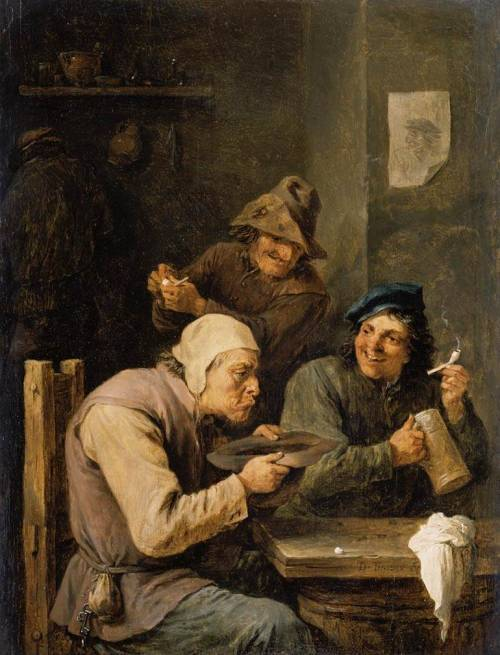 baroqueart:  The Hustle Cap by David Teniers the Younger