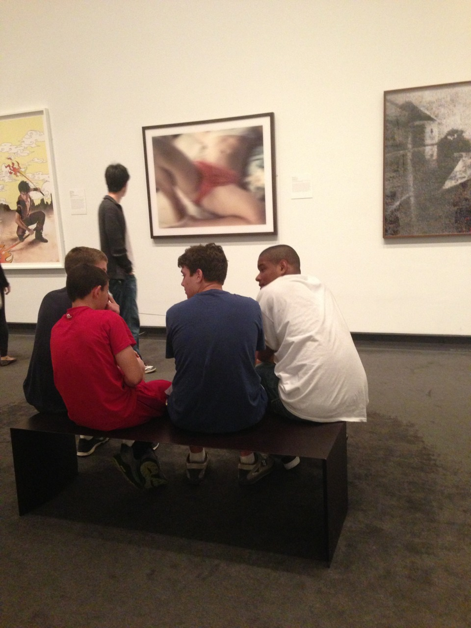 actionjacksonlovesbbq:  Four Teenage Boys And A Thomas Ruff, 2013