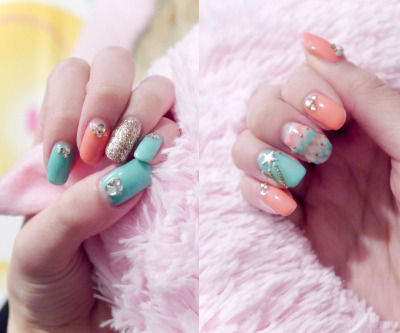 chubbylam:  My current nails :3