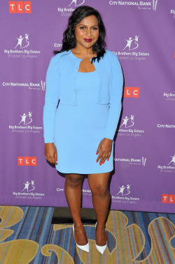 celebsofcolor:  Mindy Kaling attends Big Brothers Big Sisters of Greater Los Angeles' annual Accessories for Success spring scholarship luncheon at the Beverly Wilshire Four Seasons Hotel on April 23, 2017 in Beverly Hills, California.