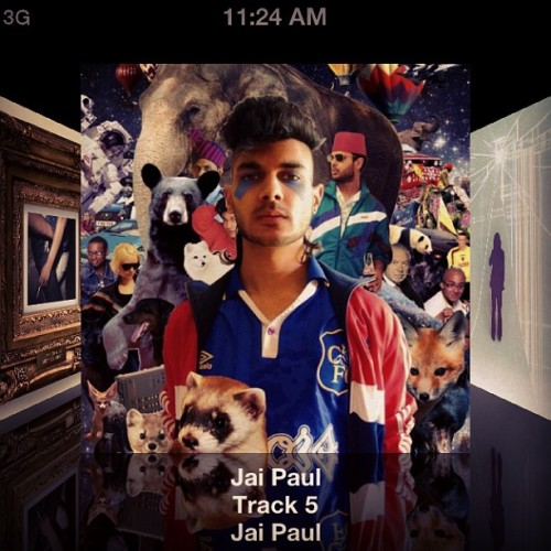 When not listening to robots it's all about Jai Paul. Dang