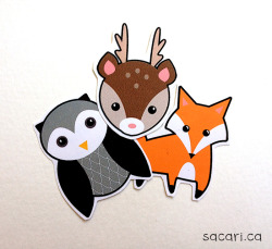Finally got this sticker set listed for sale in my Etsy shop! :D