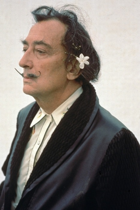 flowered-girl:  Salvador Dalí.