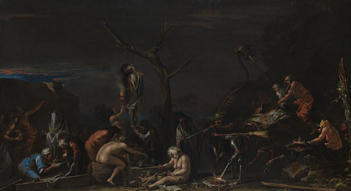 (Witches and their Incantations - Salvator Rosa)