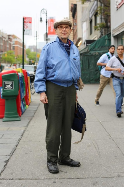 "humansofnewyork:  ""I said you could take my picture. Now you're asking me questions and this is turning into a big deal."""
