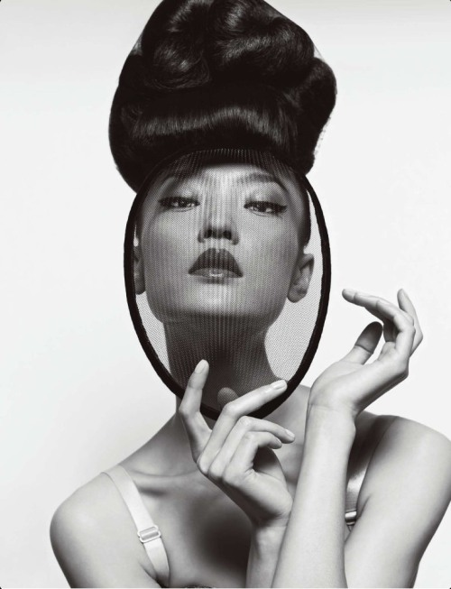 alexaleuropa:  Du Juan Models Dior for Yin Chao in Numéro China April 2013
