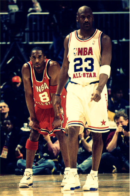the-triple-double:  MJ MONDAY FT KOBE #TheTripleDouble