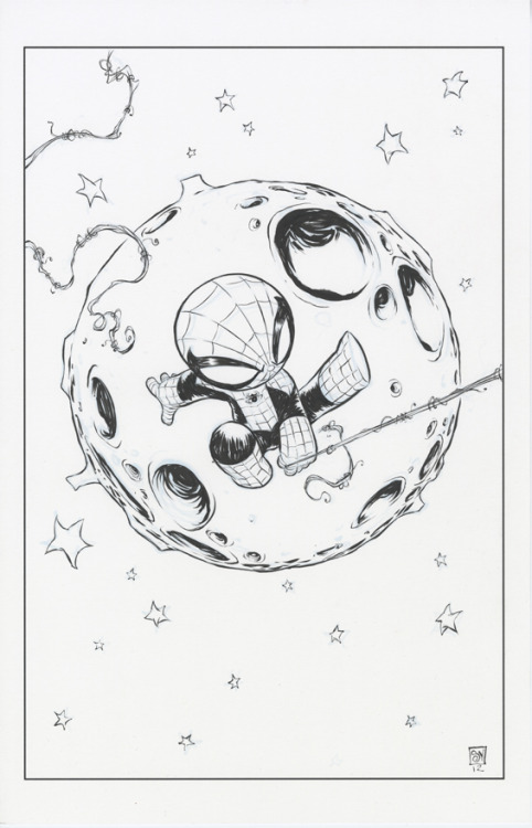 The original cover art for Superior Spider-Man #1 is up for auction. The auction will end Monday, March 19th at 9pm central time.   CLICK HERE TO GET YOUR BID ON
