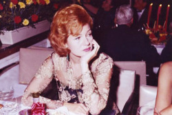 Rita at a Hollywood party, circa 1962.