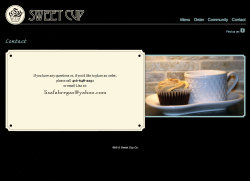Sweet Cup Co. Art Direction / Website Design / Website Development / Branding Live site: http://sweetcup.ca