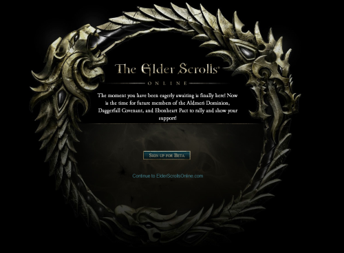 maybethings:  killabytes:  Elder Scrolls Online Closed Beta Sign ups begin  Goodbye everyone it's been nice knowing you  things I've done today…