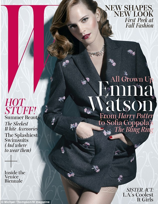 hollygossip:  Emma watson covers W Magazine june 2013