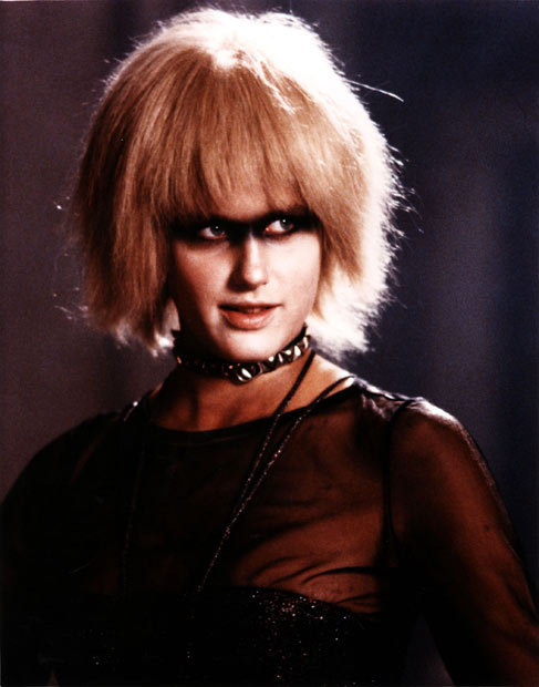 callmekreston:  What I look like when I take my makeup off at night.  The lovely Pris of Blade Runner.